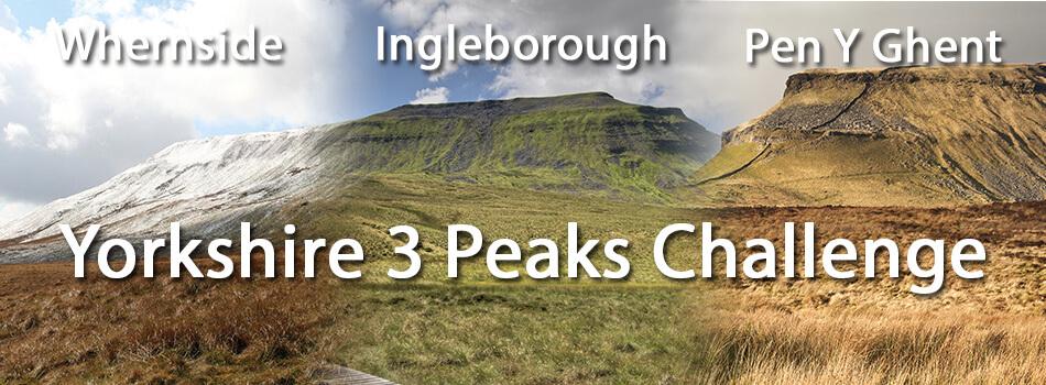 Yorkshire Three Peaks Challenge A D Reffold